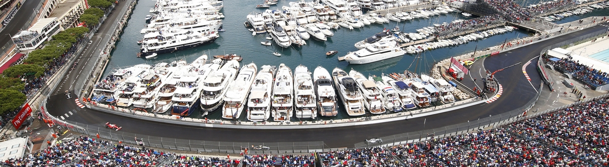 Motorsports: FIA Formula One World Championship 2016, Grand Prix of Monaco,  Port of Monte Carlo, Hafen, Harbor, Schiffe, ships, Yacht, Yachten, Stadt, City, Reise, Reisen, Reisefeature, general view *** Local Caption *** +++ www.hoch-zwei.net +++ copyright: HOCH ZWEI +++