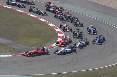 Motorsports: FIA Formula One World Championship 2015, Grand Prix of China