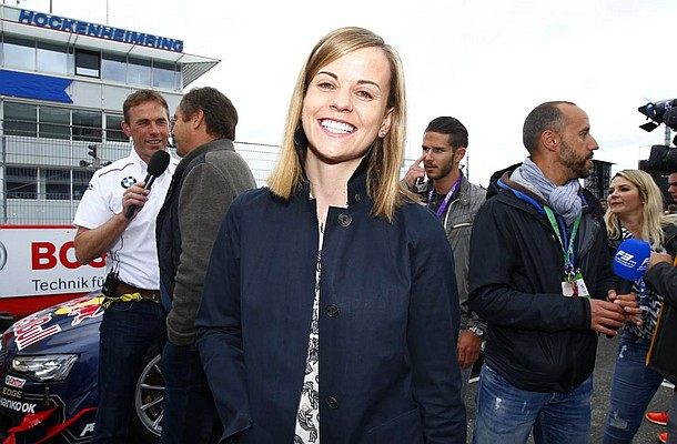 Motorsports: DTM race Hockenheim, Susie Wolff *** Local Caption *** www.hochzwei.net