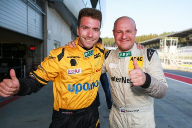 Philipp Eng and Tomas Enge ADAC GT Masters - 2. Lauf 2015 - Red Bull Ring, AUT - Foto: Gruppe C GmbH *** Local Caption *** www.hoch-zwei.net