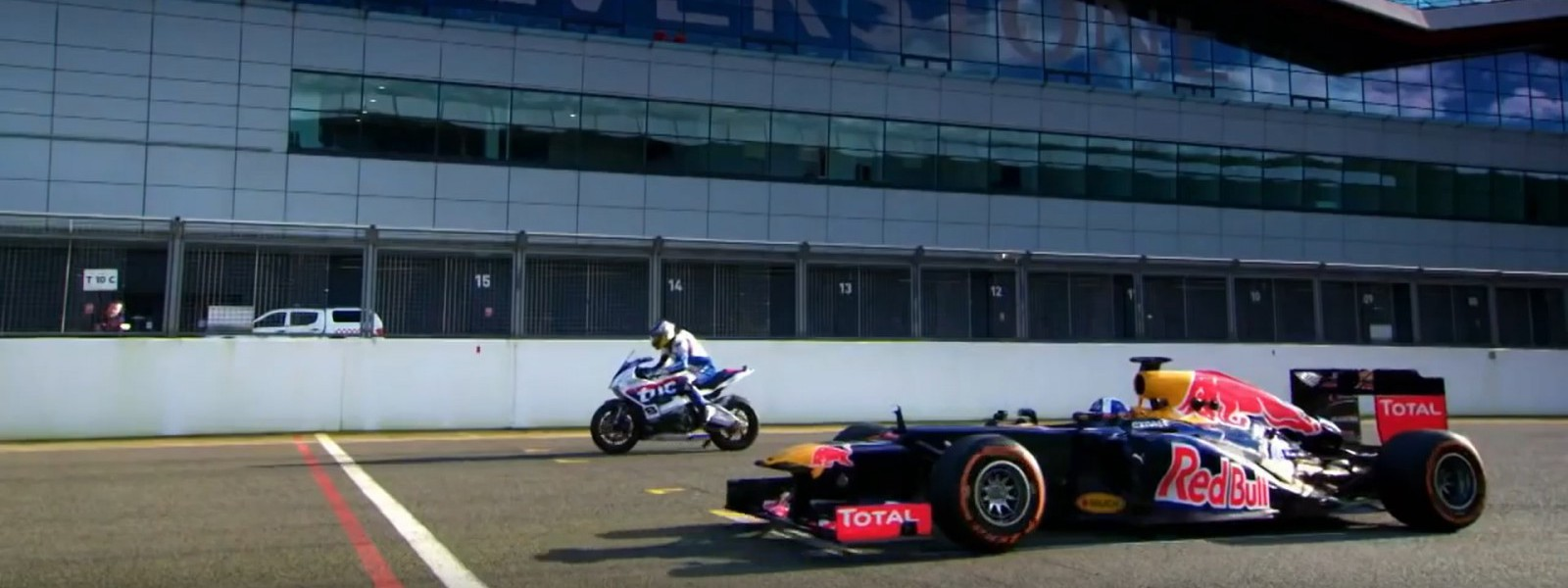 Guy Martin vs David Coulthard at Silverstone