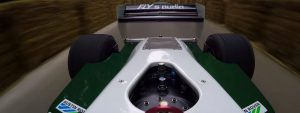 F1 cockpit cam At the wheel of the Williams FW08 at Goodwood