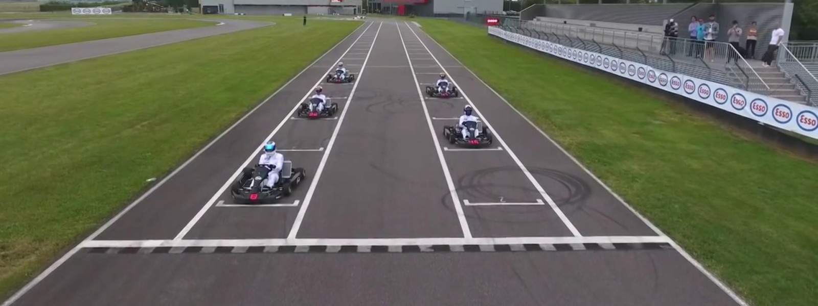 2016 Great Britain - Three Generations of F1 Driver go Go Karting 2