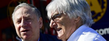 Motorsports: FIA Formula One World Championship 2016, Race in Barcelona,  Jean Todt (FIA), Bernie Ecclestone (GBR, President and CEO of Formula One Management and Formula One Administration),  *** Local Caption *** +++ www.hoch-zwei.net +++ copyright: HOCH ZWEI +++