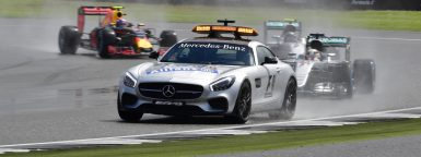 Motorsports: FIA Formula One World Championship 2016, Grand Prix of Great Britain,  Bernd Maylaender (GER, Safety Car driver),  *** Local Caption *** +++ www.hoch-zwei.net +++ copyright: HOCH ZWEI +++