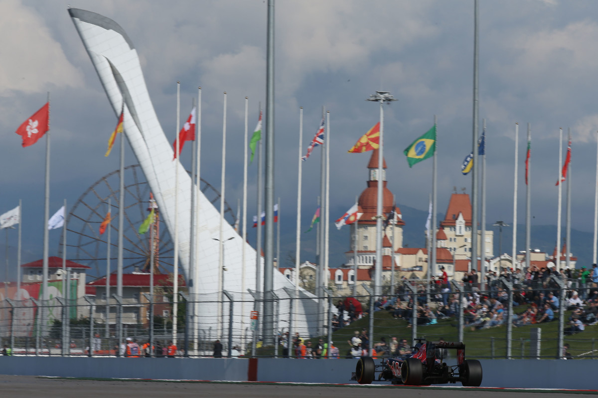 Motorsports: FIA Formula One World Championship 2016, Grand Prix of Russia