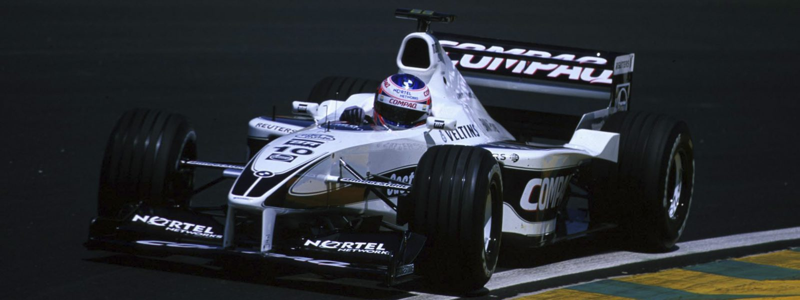 Motorsport / Formel 1: GP Brasilien 2000, Jenson BUTTON / ENG ( Williams - BMW ) , www.hoch-zwei.net, copyright: HOCH ZWEI