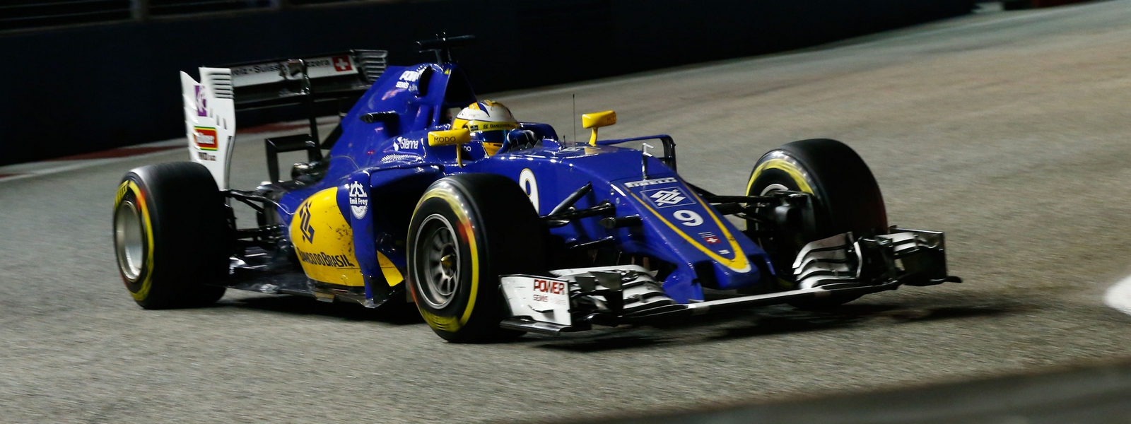Motorsports: FIA Formula One World Championship 2016, Grand Prix of Singapore,  #9 Marcus Ericsson (SWE, Sauber F1 Team),  *** Local Caption *** +++ www.hoch-zwei.net +++ copyright: HOCH ZWEI +++