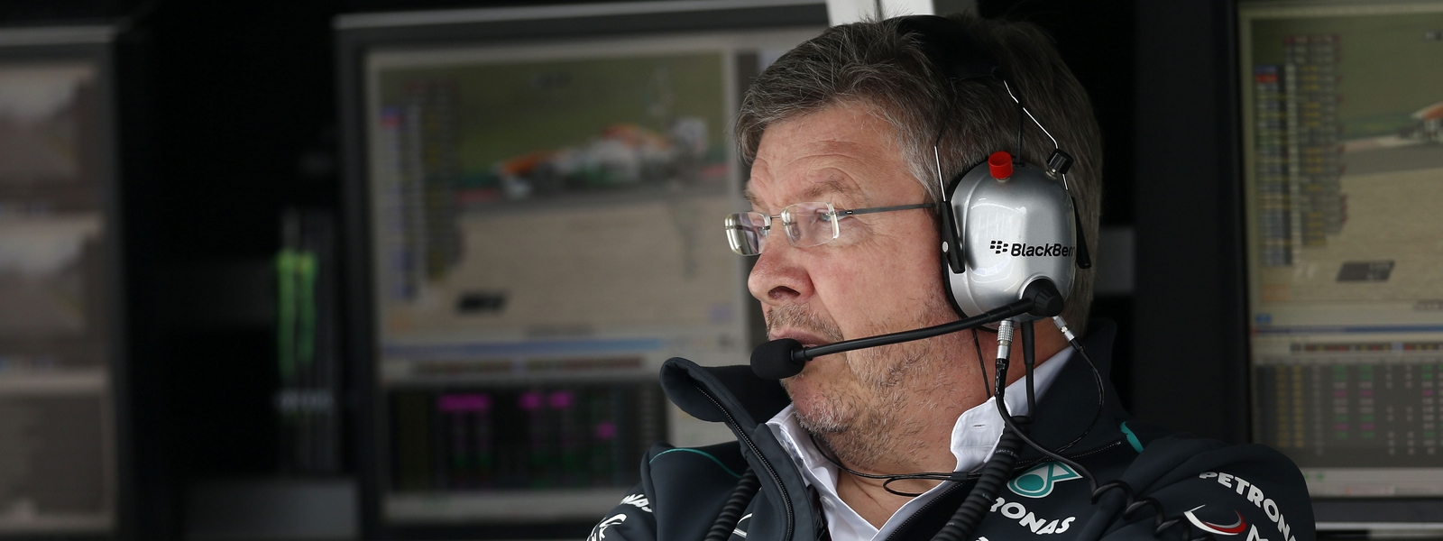 Motorsports: FIA Formula One World Championship 2013, Grand Prix of Germany,  Ross Brawn (GBR, Mercedes AMG Petronas F1 Team),  *** Local Caption *** +++ www.hoch-zwei.net +++ copyright: HOCH ZWEI +++