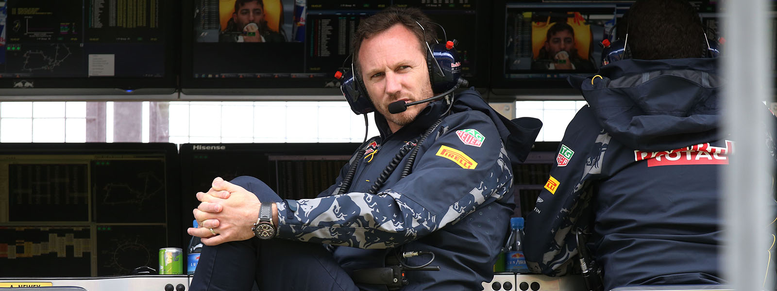 Motorsports: FIA Formula One World Championship 2016, Grand Prix of Great Britain,  Christian Horner (GBR, Red Bull Racing),  *** Local Caption *** +++ www.hoch-zwei.net +++ copyright: HOCH ZWEI +++
