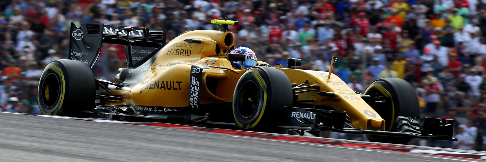 Motorsports: FIA Formula One World Championship 2016, Grand Prix of United States,  #30 Jolyon Palmer (GBR, Renault Sport Formula 1 Team),  *** Local Caption *** +++ www.hoch-zwei.net +++ copyright: HOCH ZWEI +++