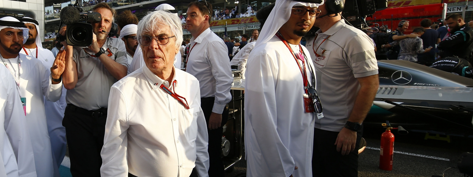 Motorsports: FIA Formula One World Championship 2016, Grand Prix of Abu Dhabi,  Bernie Ecclestone *** Local Caption *** +++ www.hoch-zwei.net +++ copyright: HOCH ZWEI +++