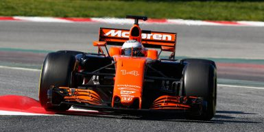 Motorsports: FIA Formula One World Championship 2017, Test in Barcelona, #14 Fernando Alonso (ESP, McLaren Honda) *** Local Caption *** +++ www.hoch-zwei.net +++ copyright: HOCH ZWEI +++