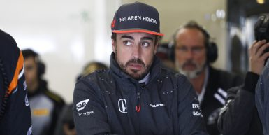 Shanghai: Motorsports: FIA Formula One World Championship 2017 Chinese Formula One Grand Prix Shanghai Circuit on April 08, 2017 in Shanghai, China. (Photo by Hoch Zwei) #14 Fernando Alonso (ESP, McLaren Honda Formula 1 Team),