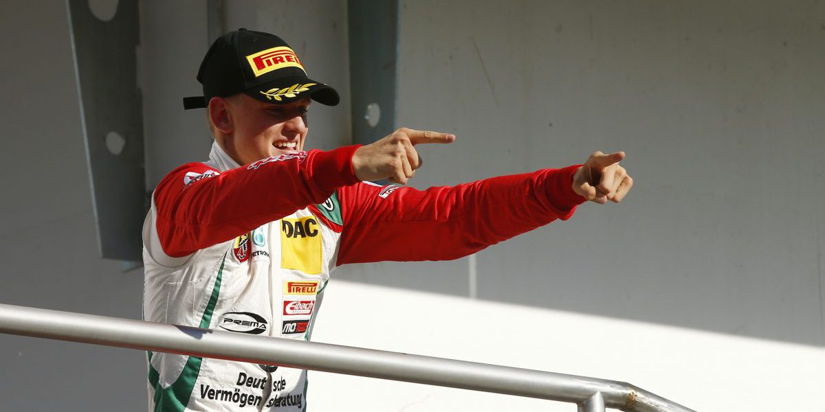 Motorsports: ADAC Formel 4 Hockenheim, 29 Prema Powerteam - Mick Schumacher *** Local Caption *** +++ www.hoch-zwei.net +++ copyright: Juergen Tap / Hoch Zwei +++