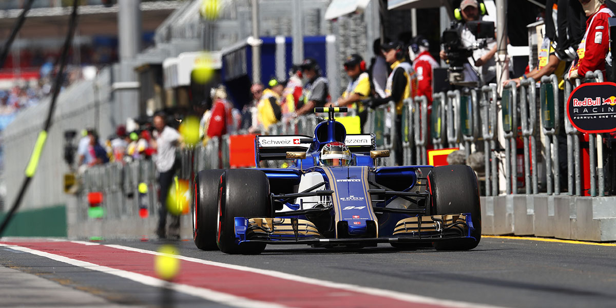 Motorsports: FIA Formula One World Championship 2017, Grand Prix of Australia,  #94 Pascal Wehrlein (GER, Sauber F1 Team) *** Local Caption *** +++ www.hoch-zwei.net +++ copyright: HOCH ZWEI +++