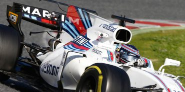 Motorsports: FIA Formula One World Championship 2017, Test in Barcelona, #18 Lance Stroll ( CAN, Williams Martini Racing) *** Local Caption *** +++ www.hoch-zwei.net +++ copyright: HOCH ZWEI +++