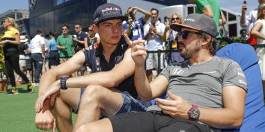 Motorsports: FIA Formula One World Championship 2017, Grand Prix of Hungary,  #33 Max Verstappen (NLD, Red Bull Racing), #14 Fernando Alonso (ESP, McLaren Honda),  *** Local Caption *** +++ www.hoch-zwei.net +++ copyright: HOCH ZWEI +++