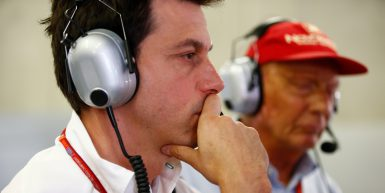 Motorsports: FIA Formula One World Championship 2017, Grand Prix of Austria,  Toto Wolff (AUT, Mercedes AMG Petronas Formula One Team), Niki Lauda (AUT, Mercedes AMG Petronas Formula One Team),  *** Local Caption *** +++ www.hoch-zwei.net +++ copyright: HOCH ZWEI +++
