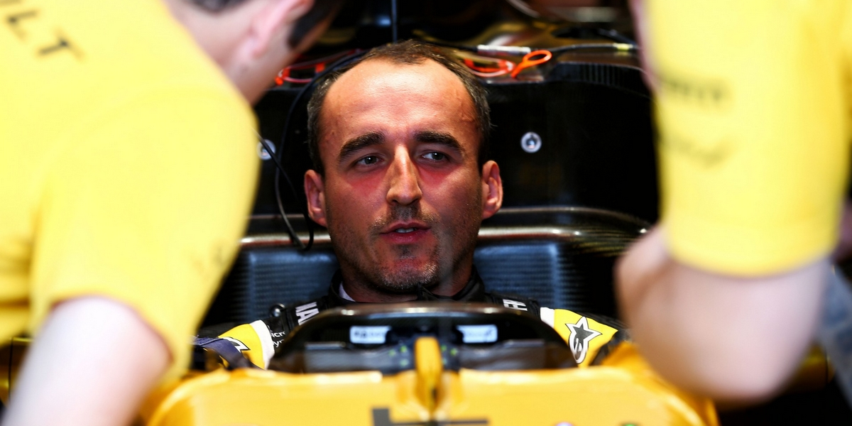 Robert Kubica (POL) Renault Sport F1 Team RS17 Test Driver. 02.08.2017. Formula 1 Testing, Budapest, Hungary. - www.xpbimages.com, EMail: requests@xpbimages.com - copy of publication required for printed pictures. Every used picture is fee-liable. © Copyright: Batchelor / XPB Images