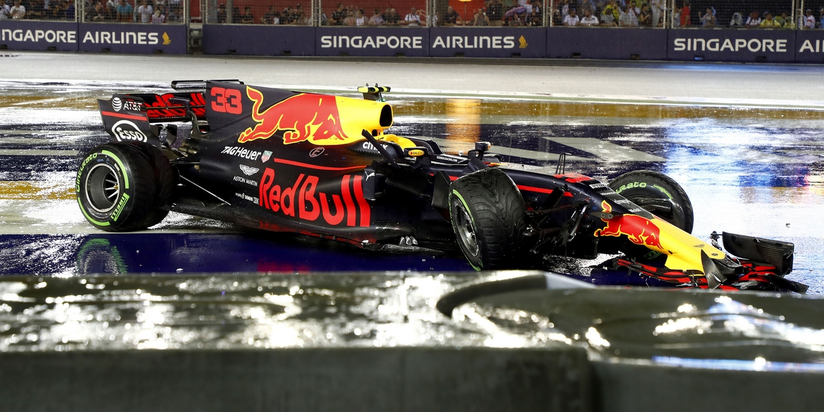 Motorsports: FIA Formula One World Championship 2017, Grand Prix of Singapore,  car of #33 Max Verstappen (NLD, Red Bull Racing),  *** Local Caption *** +++ www.hoch-zwei.net +++ copyright: HOCH ZWEI +++
