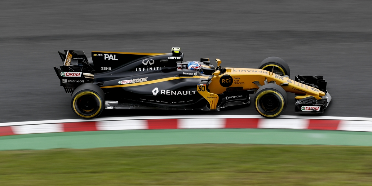 Motorsports: FIA Formula One World Championship 2017, Grand Prix of Japan,  #30 Jolyon Palmer (GBR, Renault Sport Formula 1 Team),  *** Local Caption *** +++ www.hoch-zwei.net +++ copyright: HOCH ZWEI +++