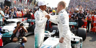 Motorsports: FIA Formula One World Championship 2017, Grand Prix of Mexico,  #44 Lewis Hamilton (GBR, Mercedes AMG Petronas F1 Team), #77 Valtteri Bottas (FIN, Mercedes AMG Petronas F1 Team),  *** Local Caption *** +++ www.hoch-zwei.net +++ copyright: HOCH ZWEI +++