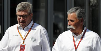 Motorsports: FIA Formula One World Championship 2017, Grand Prix of Japan,  Ross Brawn, Chase Carey *** Local Caption *** +++ www.hoch-zwei.net +++ copyright: HOCH ZWEI +++