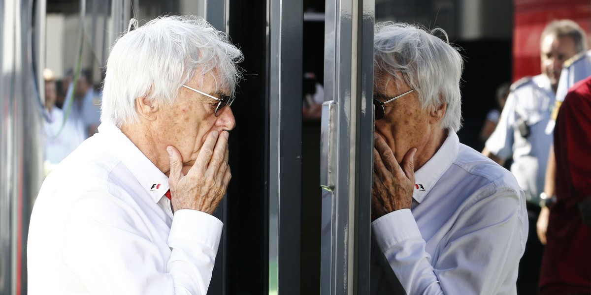 Motorsports: FIA Formula One World Championship 2016, Grand Prix of Germany,  Bernie Ecclestone (GBR, President and CEO of Formula One Management and Formula One Administration),  *** Local Caption *** +++ www.hoch-zwei.net +++ copyright: HOCH ZWEI +++